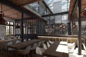 Na terenie Warszawskiej Wytwórni Wódek Koneser powstaje gastronomiczne centrum stolicy