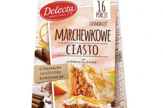 Nowość od Delecta – ciasto marchewkowe