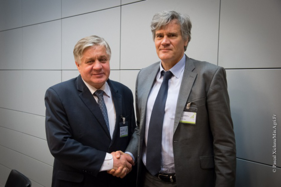 Ministrowie rolnictwa Polski i Francji chcą wesprzeć producentów owoców i warzyw