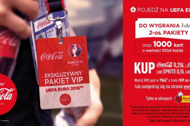 Coca-Cola i Biedronka ze wspólną promocją z okazji UEFA EURO 2016