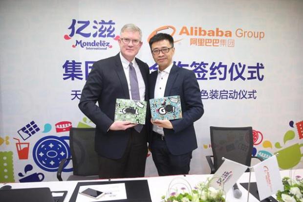 Mondelez chce zwiększyć przychody z e-commerce dzięki Alibabie
