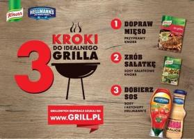 Knorr i Hellmann's: Wspólna akcja promocyjna na sezon grillowy