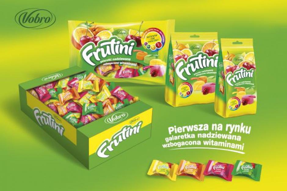 Vobro wprowadza na rynek nowość - galaretki Frutini z witaminami