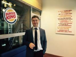 Przemysław Zacny, Development Director Burger King o planach rozwoju w Polsce (wywiad)