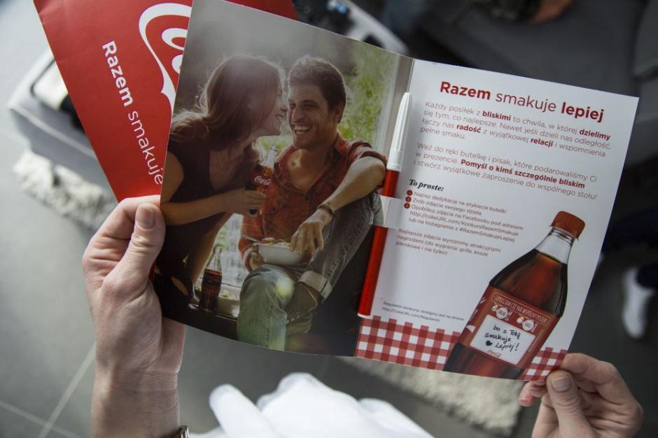 Coca-Cola startuje z akcją samplingową i działaniami marketingowymi w sieciach