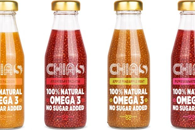 Nasiona chia w butelce? Twórcy modnej przekąski powalczą o rynek z Oshee