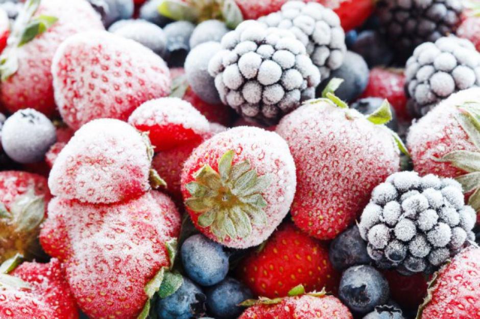 Niskie ceny mrożonych truskawek, malin i wiśni
