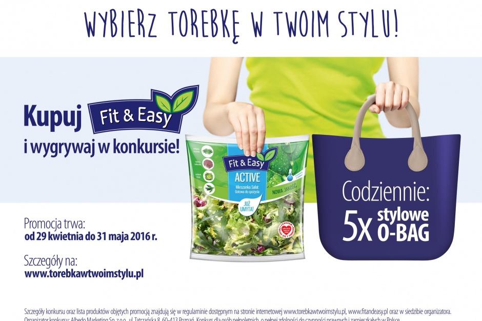 Marka sałat Fit&Easy rozpoczyna kampanię promocyjną