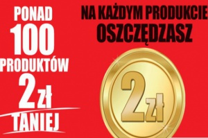 """Biedronka odpowiada na promocję Lidla. Rusza akcja """"100 produktów 2 zł taniej"""""""