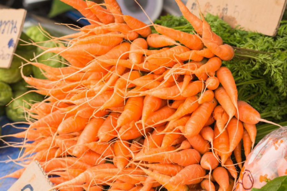Zbiory marchwi we Francji będą wyższe niż ubiegłoroczne