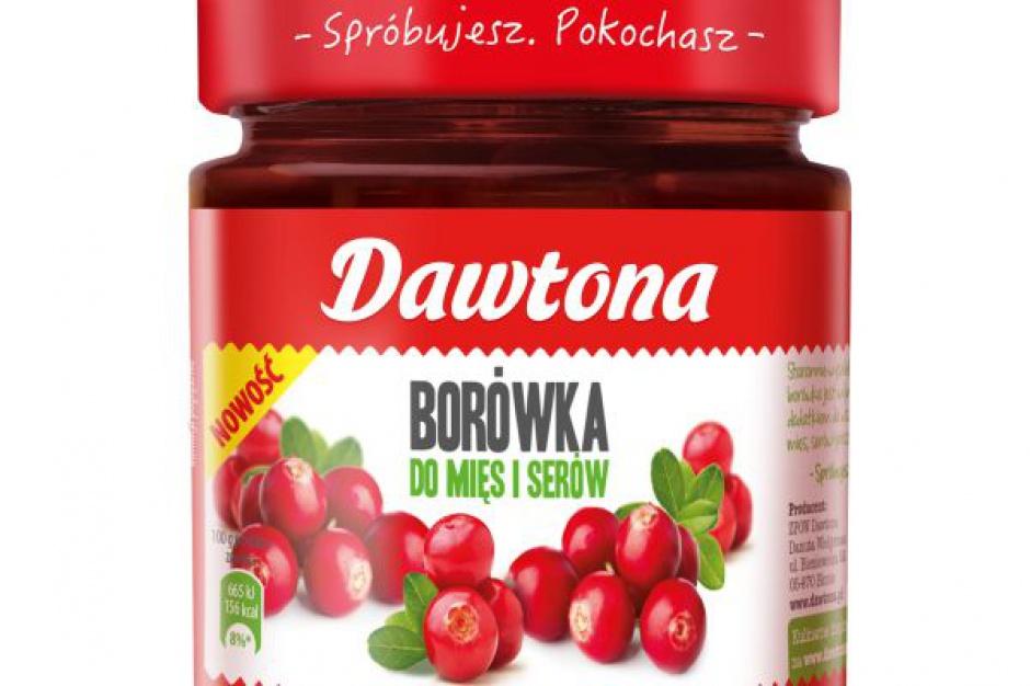 Nowe propozycje od Dawtona - Borówka i Żurawina do mięs i serów