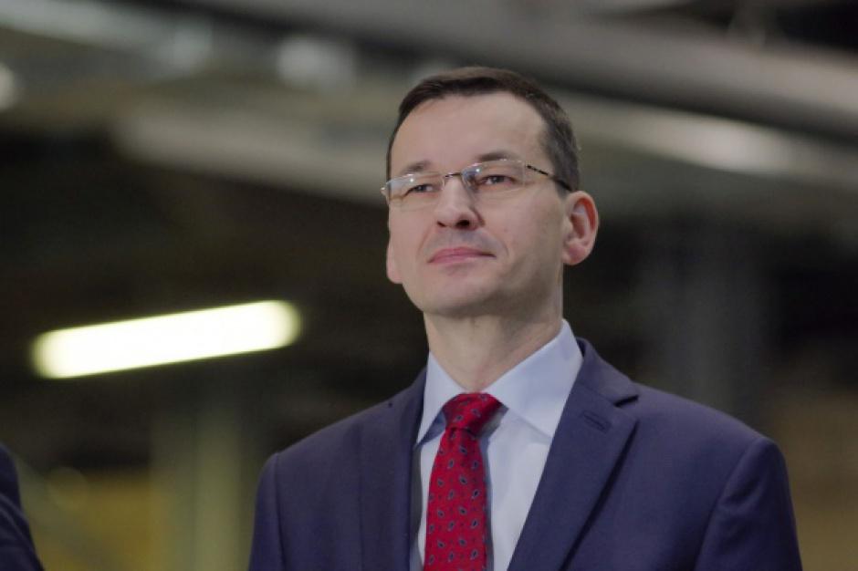Morawiecki: trzeba się starać, by wzrost gospodarczy był oparty m.in. o oszczędności