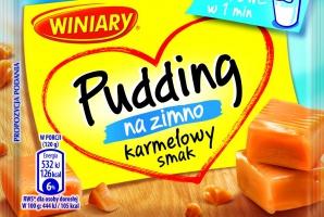 Winiary z nowym puddingiem na zimnoo smaku karmelowym