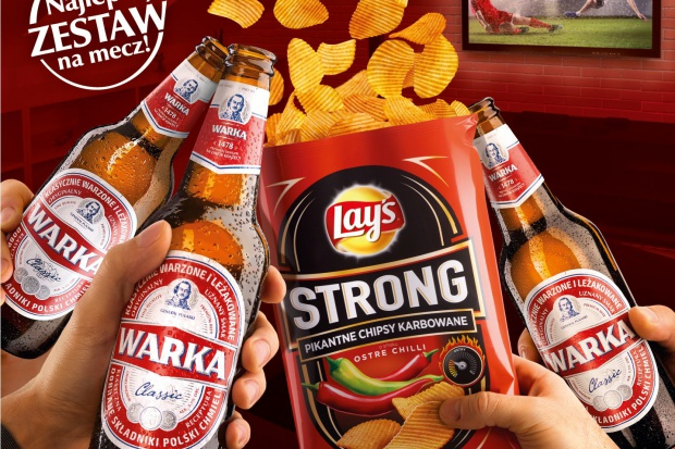 Piwo Warka i chipsy Lay's - wspólna loteria promocyjna
