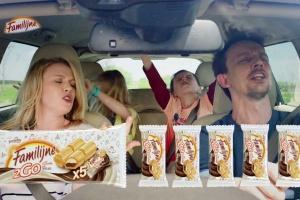 Wafelki Familijne 2GO w nowej kampanii reklamowej