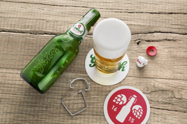Grolsch wprowadza nowy wygląd opakowań międzynarodowych lagerów