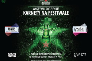 Heineken zaprasza na festiwalowe lato - Open'er i Kraków Live