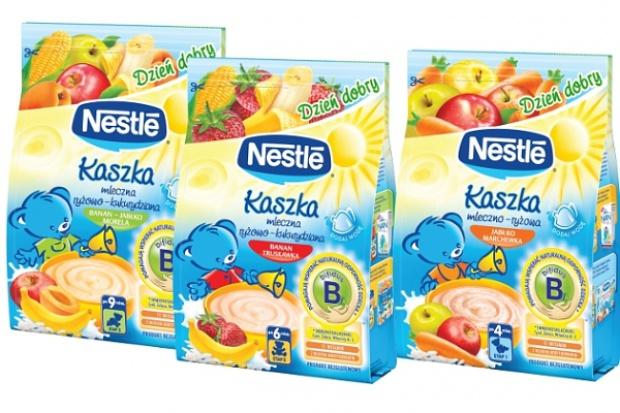 Nestlé inwestuje w zwiększenie możliwości produkcyjnych kaszek dla dzieci