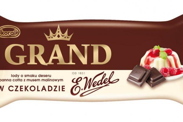 Nowość - lody Koral z wedlowską czekoladą