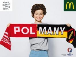 McDonald's w kampanii na Euro 2016 połączył państwa