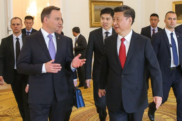 Chiny i Polska na dwóch krańcach euroazjatyckiego mostu