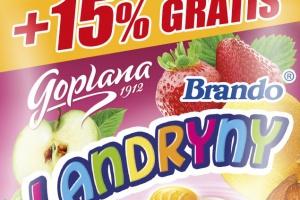 Promocyjne opakowania karmelków od Goplany
