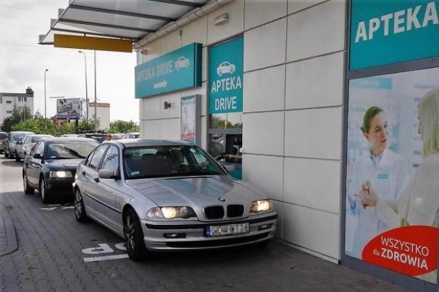 W Gdańsku ruszyła apteka typu drive-thru