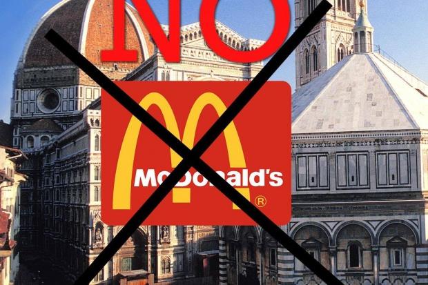 Mieszkańcy Florencji nie chcą restauracji McDonald's w historycznym centrum