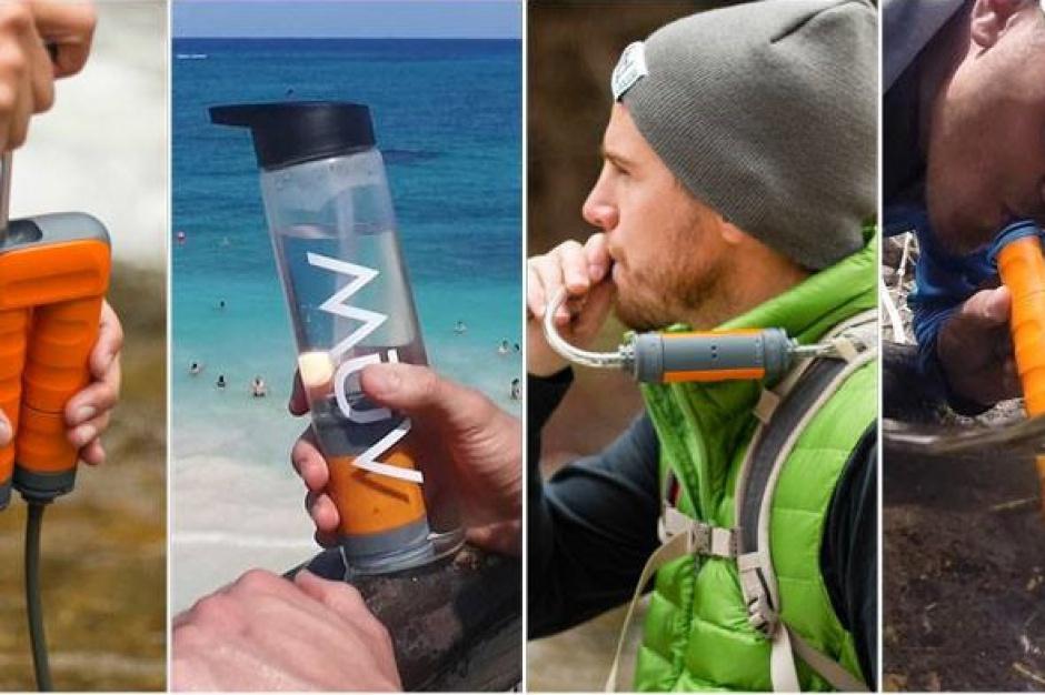Innowacyjny filtr oczyści nawet wodę z kałuży