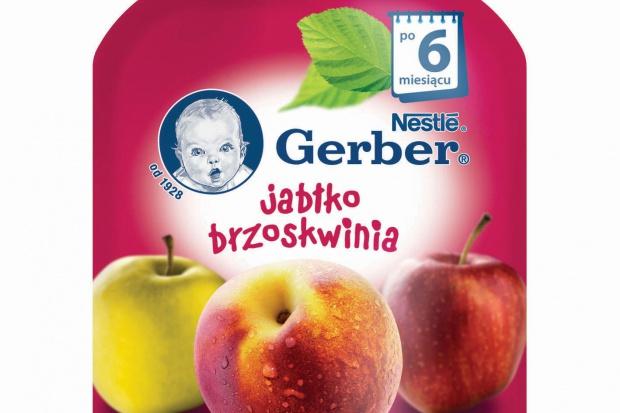 Gerber wprowadza owocowe deserki w tubkach