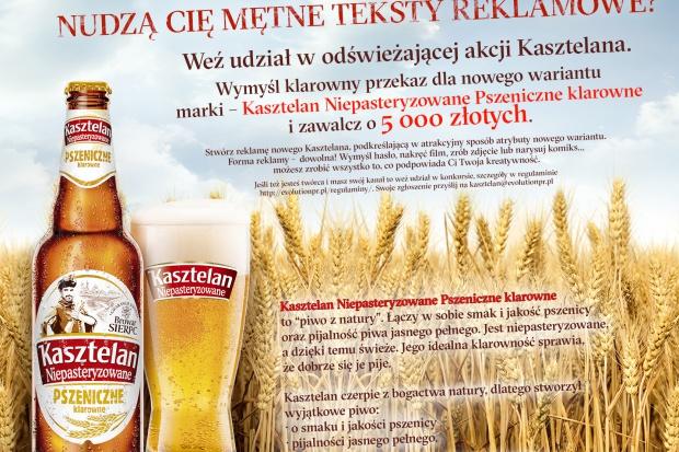 5 tysięcy złotych dla autora najlepszej reklamy Kasztelana Pszeniczne