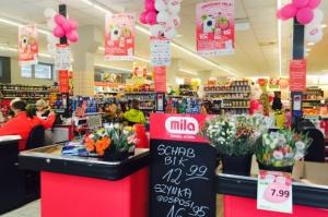 188 supermarketów w sieci Mila