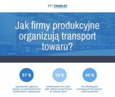 Zdjęcie numer 1 - galeria: Jak firmy produkcyjne organizują transport towaru? - wyniki badania
