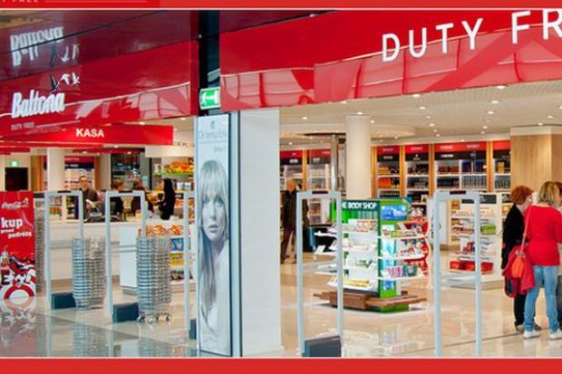 Lotnisko w Gdańsku nie chce usług handlowych i gastronomicznych Baltony