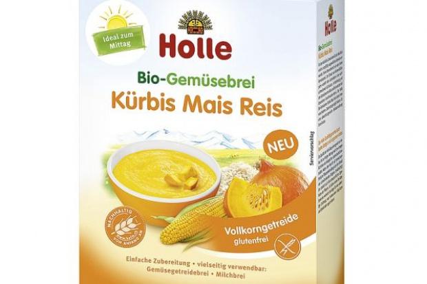 Nowość od marki Holle – ekologiczna kaszka warzywna