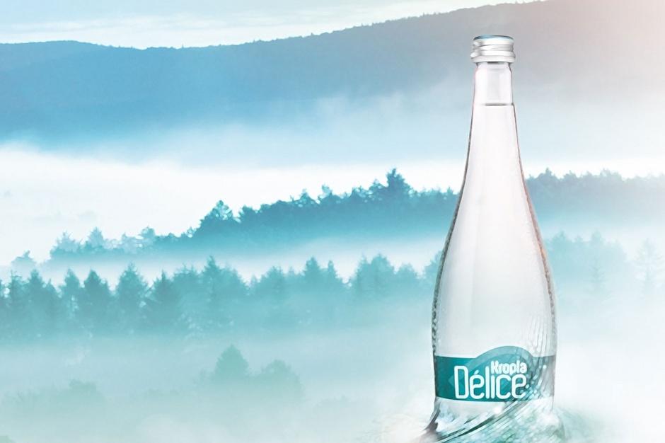 Coca-Cola z nową wodą Kropla Délice