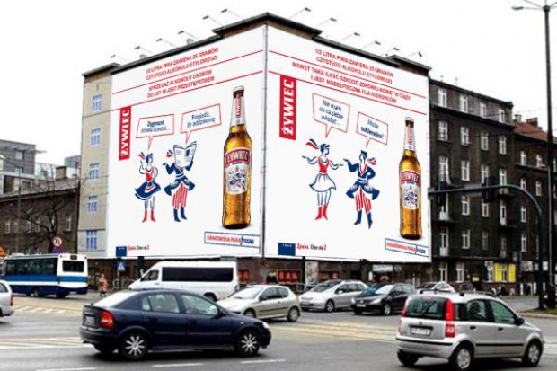 Żywiec zaczyna lokalną kampanię reklamową w Krakowie i okolicach