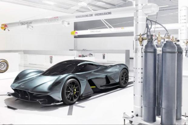 Red Bull rozpoczął produkcję samochodów
