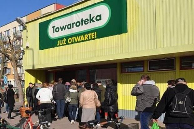 Jeronimo Martins Polska zamyka sklep sieci Towaroteka