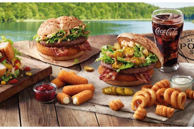 Letnie menu w McDonalds's: Wracają Burgery Drwala i McWrap California