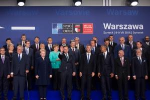 Promocja żywności na szczycie NATO w Warszawie: czekoladki, miody i...gruzińskie wino