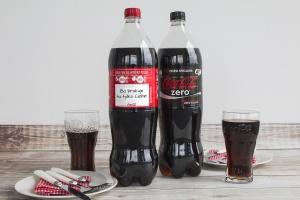 Coca-Cola z nowymi etykietami na największych butelkach
