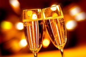 Francja spożywa 55 proc. swojej produkcji szampana