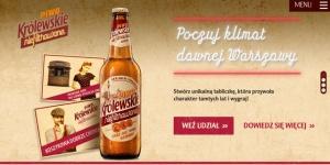 Królewskie wskrzesza klimat dawnej Warszawy w konkursie dedykowanym nowej submarce