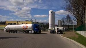 Mlekpol zmodernizował kotłownię mleczarni w Kolnie