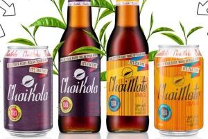 Herbaciane napoje ChaiKola i ChaiMate w szklanych butelkach