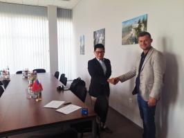 Spółka Fruit-Union podpisała list Intencyjny z chińską spółką dot. eksportu jabłek