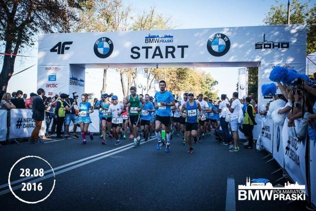 Cisowianka partnerem BMW Półmaratonu Praskiego
