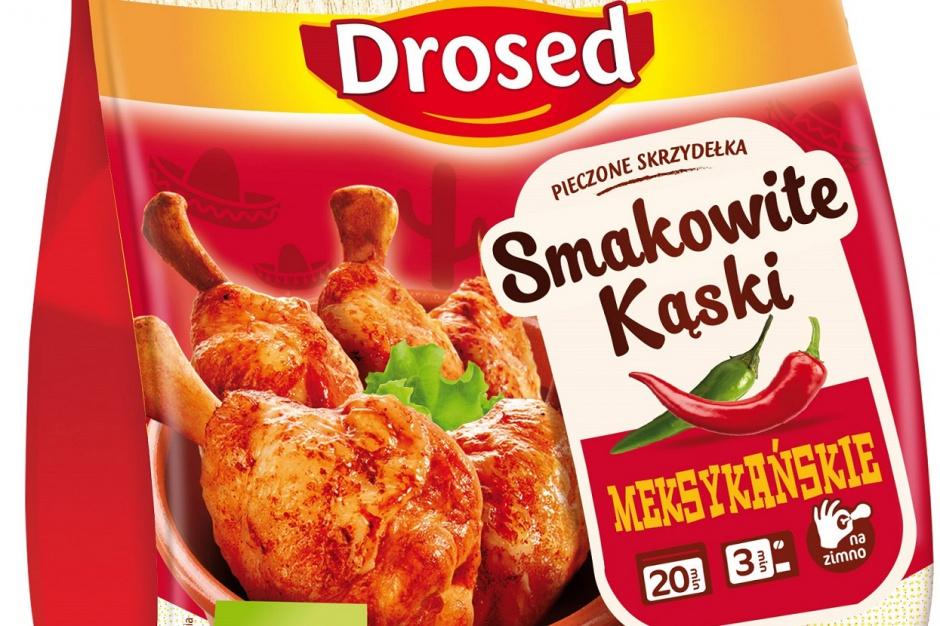 Nowa przekąska od Drosedu - pieczone skrzydełka kurczaka
