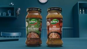 Łowicz z nową kampanią telewizyjną sosów inspirowanych kuchnią polską